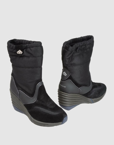 Boots for biker between Fornarina shoes